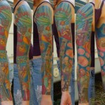 This Full Sleeve Futurama Tattoo is Amazing! [pic]