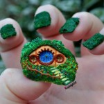 3D Hobbit Hole and Gandalf Fingernail Art [pics]
