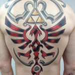 An Impressive Legend of Zelda Back Tattoo [pic]