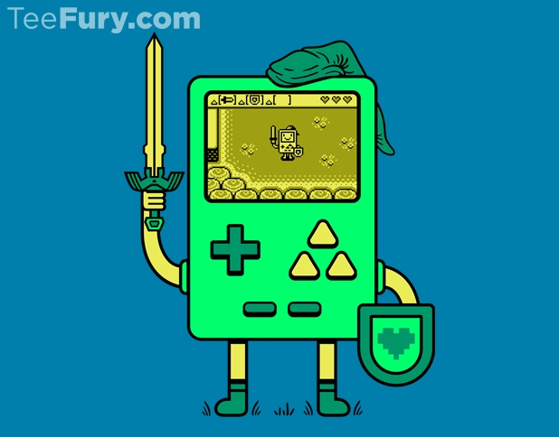 Legend of Zelda Game Boy T-Shirt
