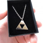 Legend of Zelda Triforce Necklace [pic]