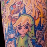 An Incredible Legend of Zelda Sleeve Tattoo [pic]