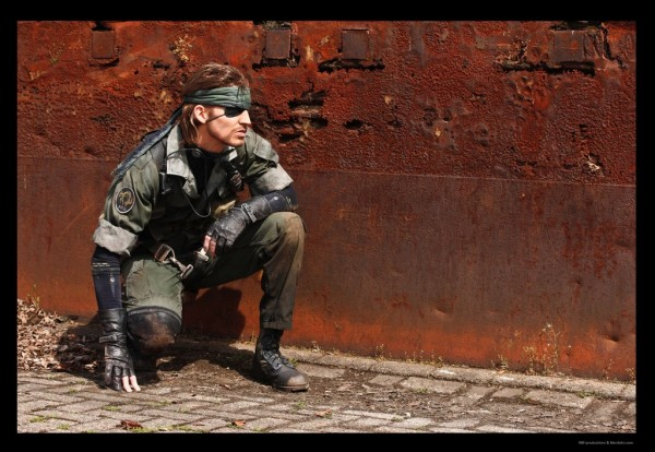 Metal Gear Solid Snake Cosplay