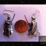 Pewter Darth Vader Earrings [pic]