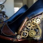 These Amazing Steampunk Heels Even Light Up with LEDs [pics]