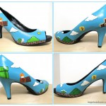 Super Mario Bros High Heeled Shoes [pic]