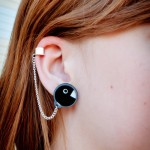 Super Mario Chain Chomp Earrings [pic]