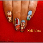 Awesome Worms Fingernail Art [pic]