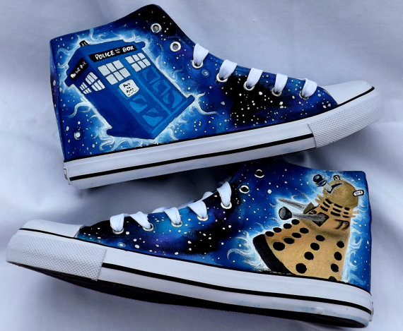 Doctor Who Chuck Tailor Sneakers