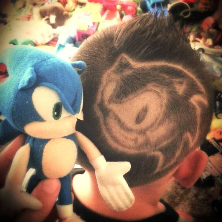 Sonic Haircut
