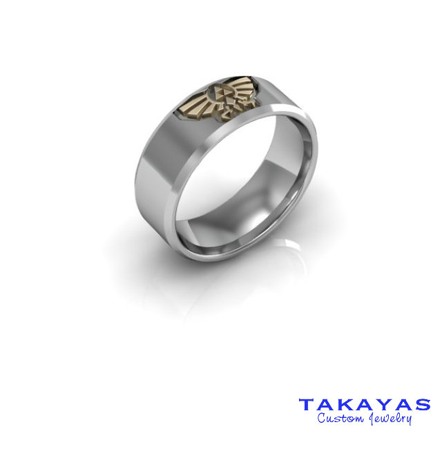 Legend of Zelda Hylian Crest Ring
