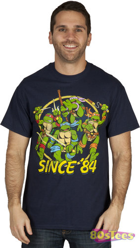 Teenage Mutant Ninja Turtles Since '84 Shirt