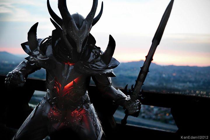 Skyrim Daedric Armor Cosplay