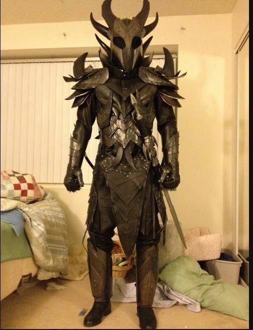 Daedric Armor Cosplay
