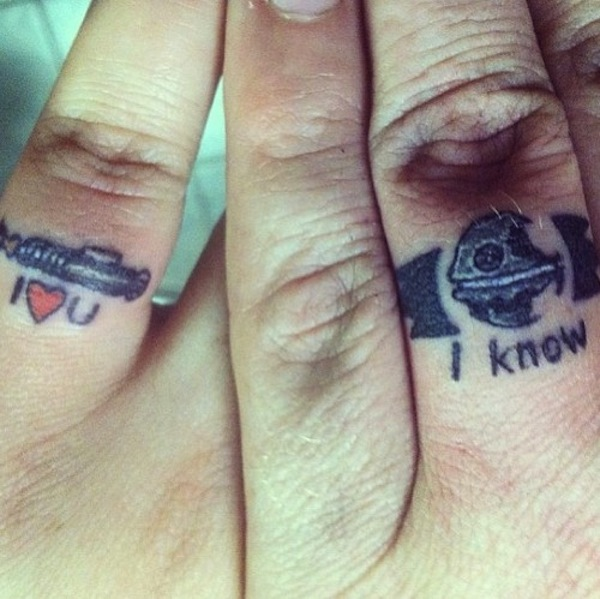 Star Wars Ring Tattoos