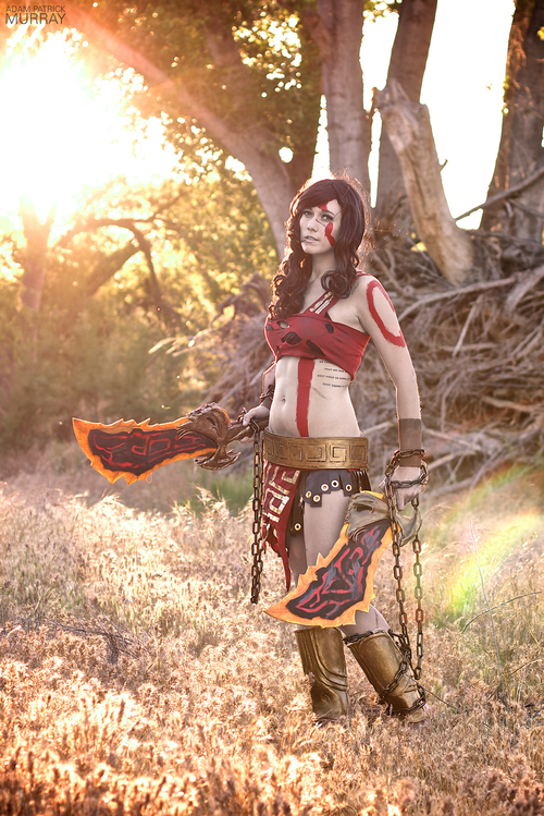 God of War Female Kratos Cosplay