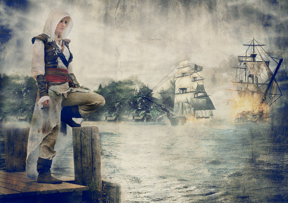 Female Edward Kenway Cosplay