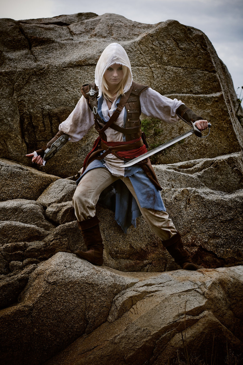 Gender Bending Edward Kenway Cosplay