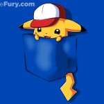 Pokemon Pocket Pikachu T-Shirt $11 Today Only