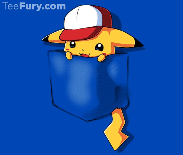 pokemon pocket pikachu t shirt 11 today only fanboy fashion