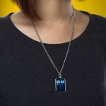 Every Whovian Should Wear This 18″ TARDIS Necklace