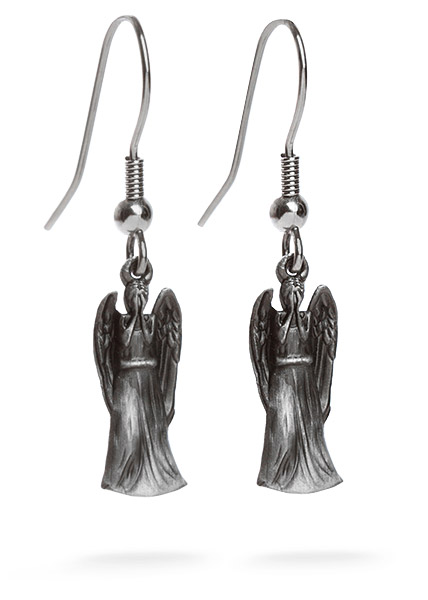 Doctor Who Weeping Angel Earrings