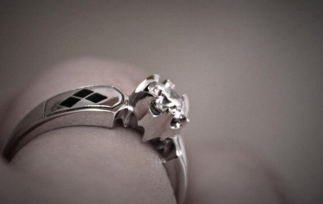 Batman and Harley Quinn Ring