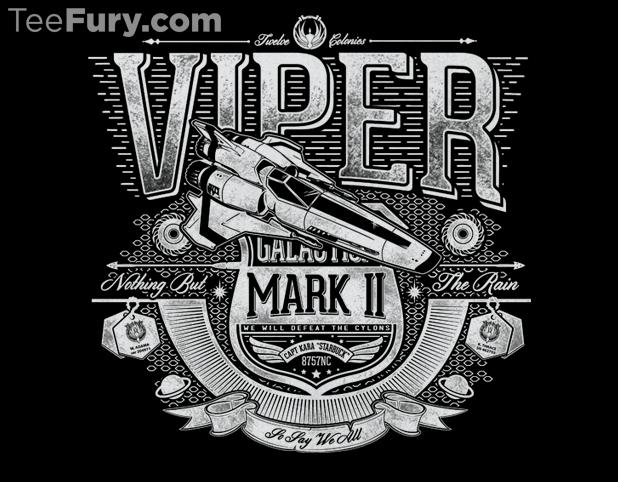 Battlestar Galactica Viper T-Shirt
