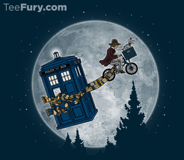 Doctor Who and E.T. mash-up T-Shirt