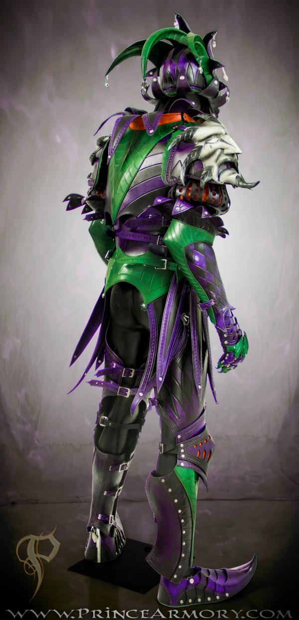 Leather Medieval Joker Armor