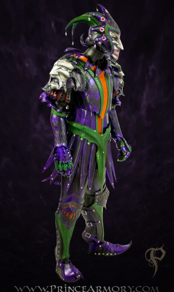 Medieval Joker Armor Side