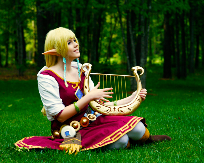 Skyward Sword Princess Zelda Cosplay