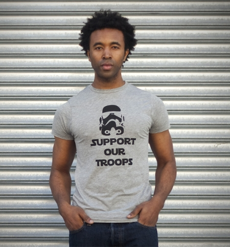 Stormtrooper Support Our Troops Shirt