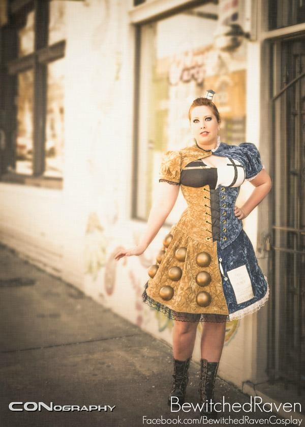 Dalek and TARDIS Dress