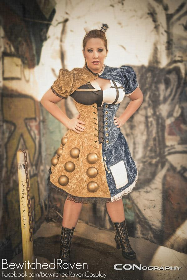 TARDIS and Dalek Dress