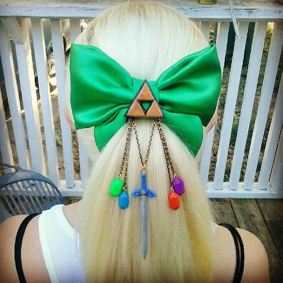 Legend of Zelda Hair Bow