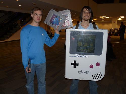 Nintendo Game Boy Cosplay