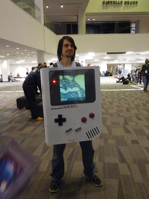 Game Boy Cosplay